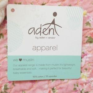 aden + anais One Pieces - Aden + Anais Muslin Footie NWT